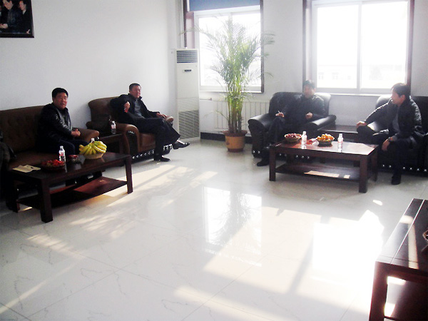 吉林省商务厅领导来长春金锣检查指导工作图片
